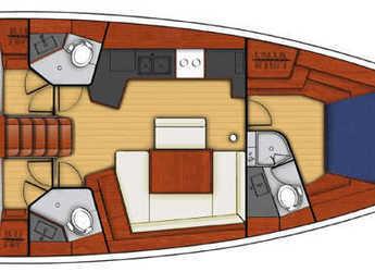 Chartern Sie segelboot Beneteau Oceanis 45.3 in Inner Harbour Marina (Road Town), Road town
