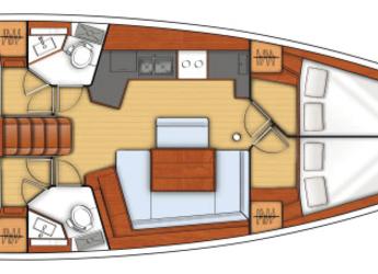 Alquilar velero Beneteau Oceanis 45.4 en Inner Harbour Marina (Road Town), Road town