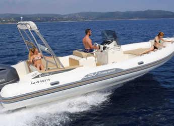 Rent a dinghy in Port Mahon - Capelli Tempest 775