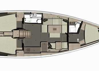 Chartern Sie segelboot dufour 410 Grand Large in Marina Baotić, Seget Donji