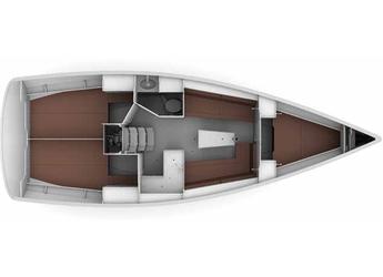 Rent a sailboat Bavaria Cruiser 34 (3cab) in Sicily / Portorosa, Italy (Sicily)