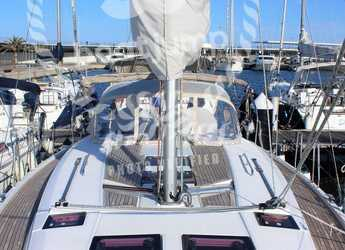 Chartern Sie segelboot Hanse 445 in Marina Real Juan Carlos I, Valencia