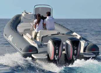 Rent a dinghy in Marina Ibiza - BWA 28