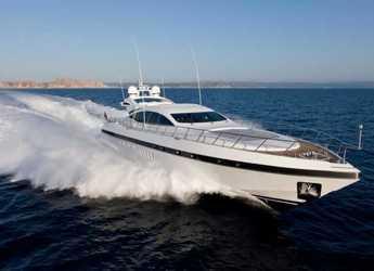 Rent a yacht in Marina Botafoch - Mangusta 92