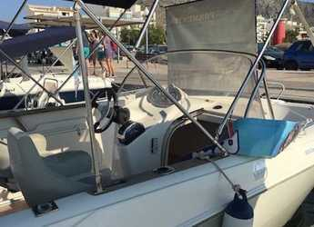 Rent a motorboat Quicksilver commander 600 in Port of Pollensa, Pollensa