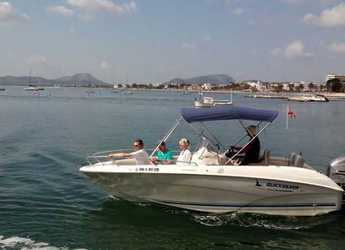 Chartern Sie motorboot in Port of Pollensa - Quicksilver commander 600