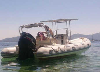 Chartern Sie motorboot in Port of Pollensa - Caribe UB 24 SC