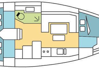 Chartern Sie segelboot Dufour 380 Grand Large in Marina Baotić, Seget Donji