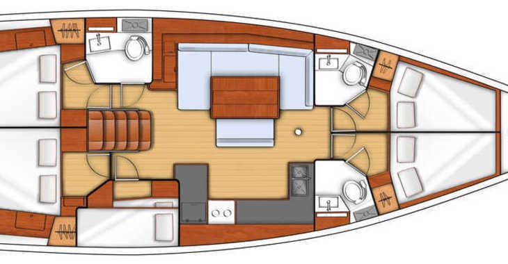 Alquilar velero en Marina Baotić - Oceanis 48