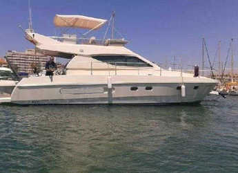 Rent a yacht in Marina de Dénia - Ferretti 42