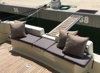 Alquilar yate Ferretti 42 en Marina de Dénia, Denia