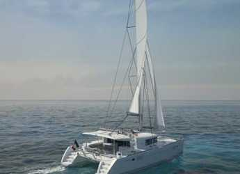 Rent a catamaran Lagoon 450 S in Marina di Olbia, Olbia