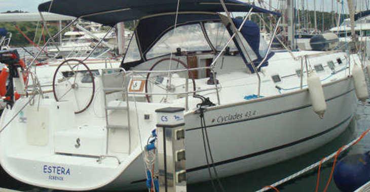 Alquilar velero Cyclades 43.4 en Marina Baotić, Seget Donji