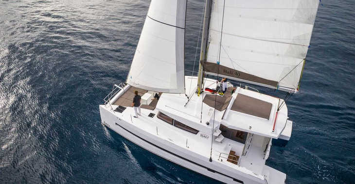 Rent a catamaran in Palm Cay Marina - Bali 4.0 Owner Version with AC