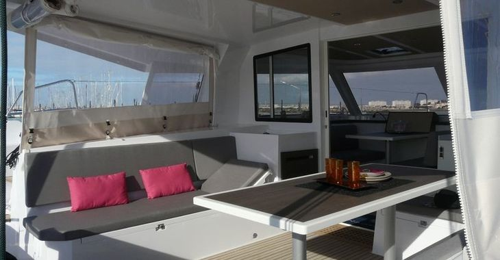 Rent a catamaran in Marina Port Royale - Nautitech 40