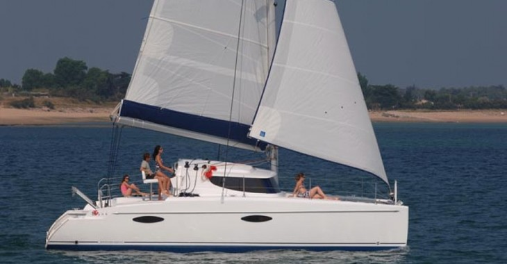 Rent a catamaran in Marina Bas du Fort - Mahe 36 Evolution