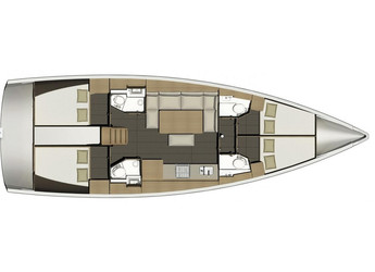 Rent a sailboat Dufour 460 Grand Large in Harbour View Marina, Marsh Harbour