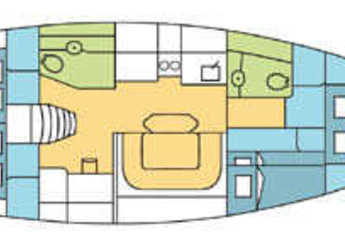 Chartern Sie segelboot Harmony 47 in Marina Baotić, Seget Donji