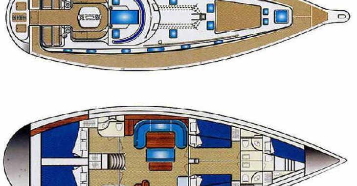 Rent a sailboat in Santorini - Ocean Star 51.2