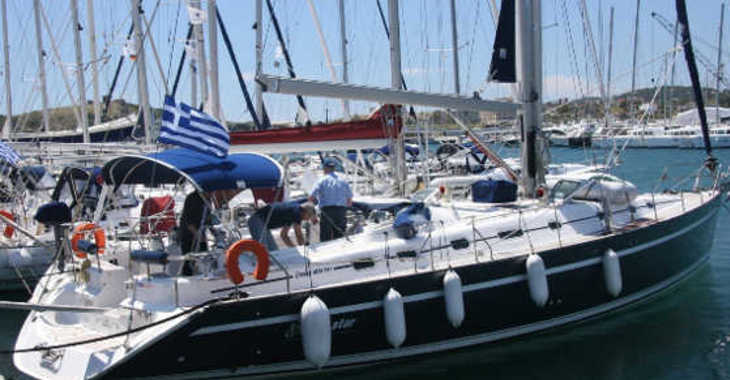 Rent a sailboat in Santorini - Ocean Star 56.1