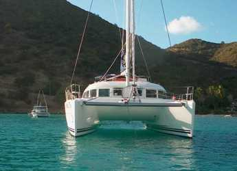 Rent a catamaran in Marina el Portet de Denia - Lagoon 38