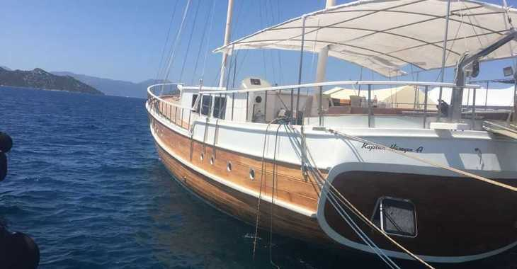 Rent a schooner in Alimos Marina Kalamaki - Gulet