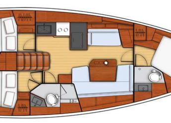 Rent a sailboat Oceanis 41.1 in Club Marina, Göcek