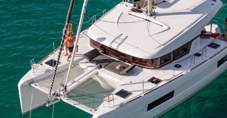 Alquilar catamarán Lagoon 40 en Huelva, Costa de la luz