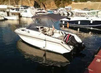 Rent a motorboat Faeton 550 Moraga in Marina Palamos, Palamos