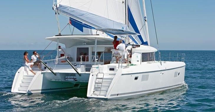 Rent a catamaran in Port Louis Marina - Lagoon 421