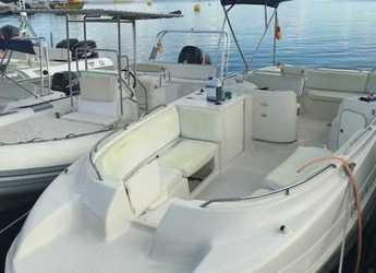 Rent a motorboat Rendez Vous 265 in Port of Pollensa, Pollensa