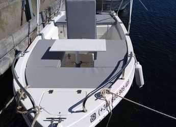 Rent a motorboat Astec 400 in Marina Palamos, Palamos