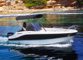 Chartern Sie motorboot in Port of Can Picafort - Quicksylver 455 Activ