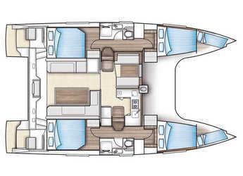 Alquilar catamarán Nautitech Open 40 en Club Nautico El Arenal, Palma de mallorca