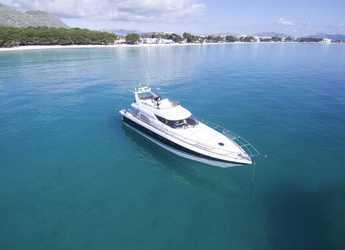 Rent a yacht in Port d´Alcudia/Port de Alcudiamar Marina - Sunseeker Manhattan 62