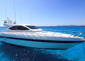 Rent a yacht in Marina Ibiza - Mangusta 72