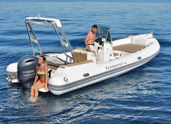 Chartern Sie schlauch-/beiboot in Port d'andratx - Capelli Tempest 700 lux