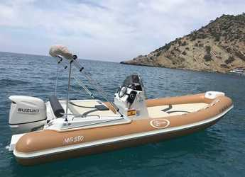 Rent a dinghy in Port d'andratx - Saver Mg 580