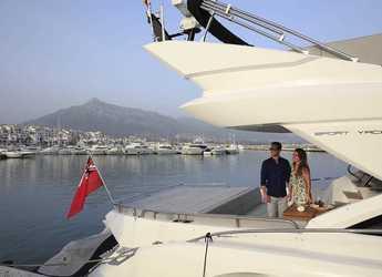Alquilar yate Sunseeker 68 sport  en Puerto Banús, Marbella