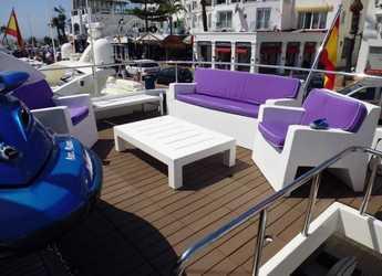 Rent a yacht Falcon 102 in Puerto Banús, Marbella