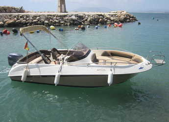 Rent a motorboat in Puerto del Candado - Galia 570