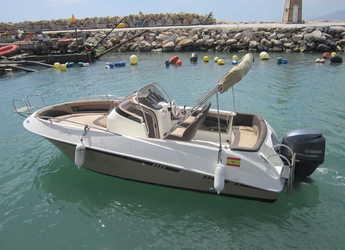 Alquilar lancha Galia 570 en Puerto del Candado, Málaga