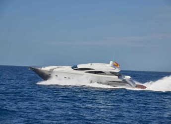 Alquilar yate Pershing 90 en Marina Ibiza, Ibiza (ciudad)