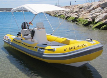 Rent a dinghy in Carboneras - Astec VD 410