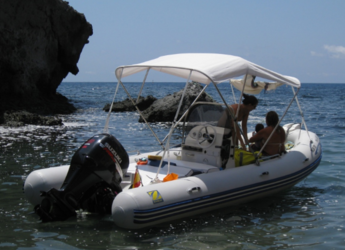 Rent a dinghy in Carboneras - Medline 580