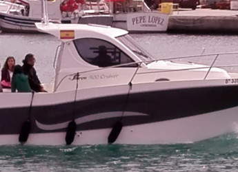 Rent a motorboat in Carboneras - Shiren 900 cruiser