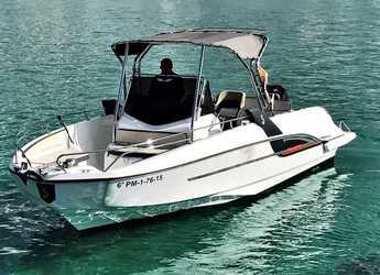 Rent a motorboat in Port of Can Pastilla - Beneteau Flyer 7.7