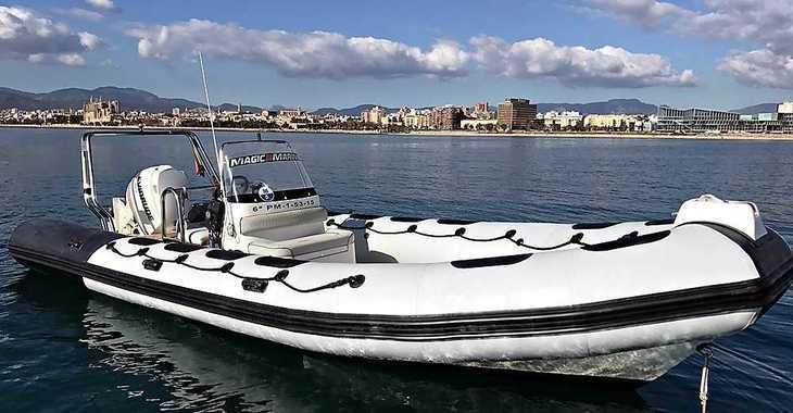 Alquilar neumática en Port of Can Pastilla - Valiant 750