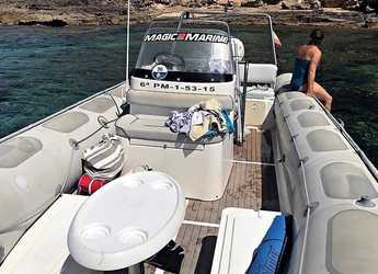 Rent a dinghy in Port of Can Pastilla - Valiant 750