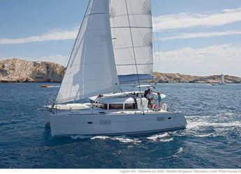 Alquilar catamarán Lagoon 400 S2 en Cala Nova, Palma de mallorca